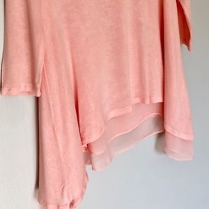 CLOUD CHASER Pink Knit Juniors Top - Size XS-